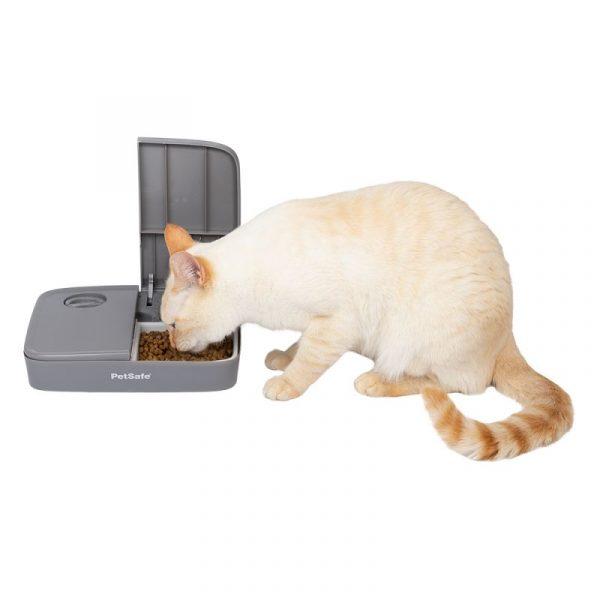 ZOOSHOP.ONLINE - Zoopreču internetveikals - Automātiskā barotava PetSafe kaķiem un suņiem 2 ēdienreizēm