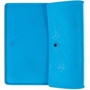ZOOSHOP.ONLINE - Интернет-магазин зоотоваров - Силиконовый коврик под собачьи миски 60 x 43 см Синий