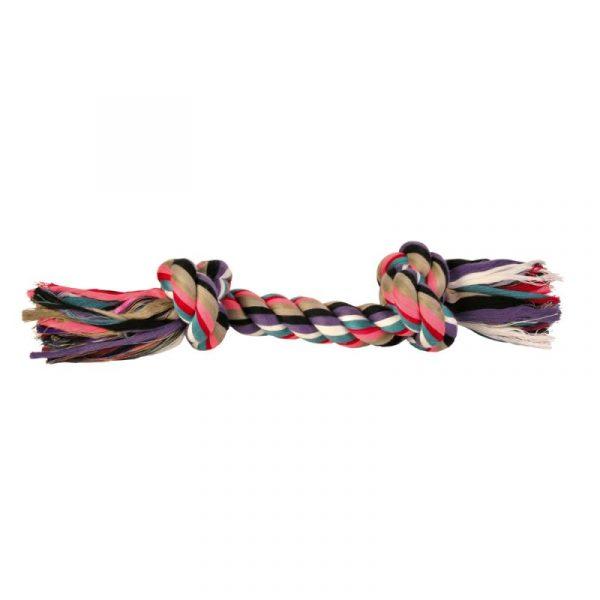 ZOOSHOP.ONLINE - Интернет-магазин зоотоваров - Trixie разноцветная игрушка для собак веревка 26 см 125 г