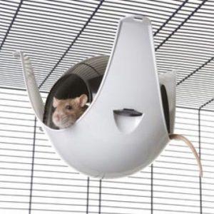 ZOOSHOP.ONLINE - Интернет-магазин зоотоваров - Savic подвесной домик для грызунов XL - 29 x 26 x 19 см
