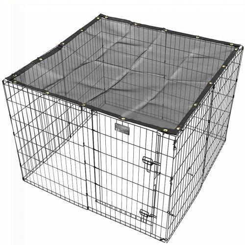 ZOOSHOP.ONLINE - Интернет-магазин зоотоваров - Защитный чехол от солнечных лучей для собачьих и кроличьих вольеров 122 x 122 см