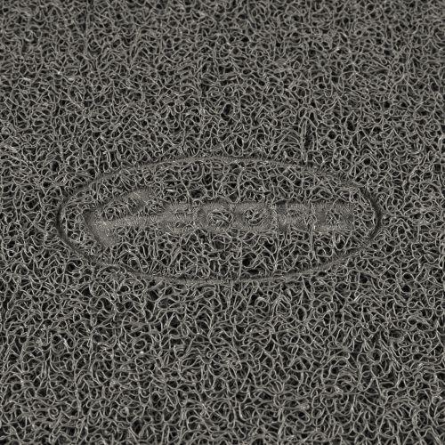 ZOOSHOP.ONLINE - Zoopreču internetveikals - Neslīdošs paklājiņš zem bļodām un kaķu tualetēm 40 x 60 cm Pelēks