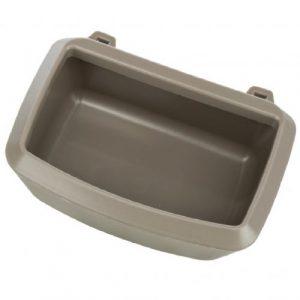 ZOOSHOP.ONLINE - Интернет-магазин зоотоваров - Skudo Carrier Bowl 200ml пластиковая миска для клеток