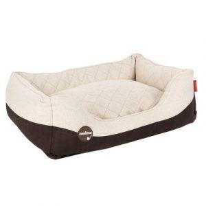 ZOOSHOP.ONLINE - Интернет-магазин зоотоваров - Диван для собак из искусственной кожи и шерсти 80 x 60 x 25 см