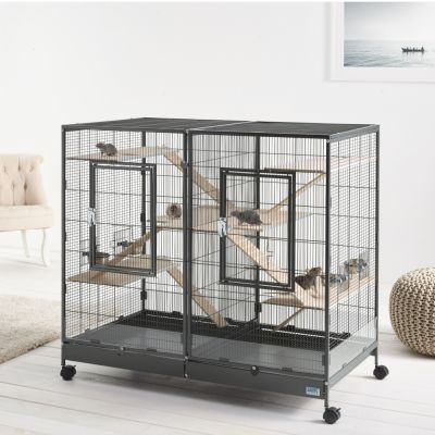 ZOOSHOP.ONLINE - Интернет-магазин зоотоваров - Savic Tasmania 120 деревянный комплект для переоборудования клетки грызунам